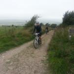 James climbing Bleeding Hill